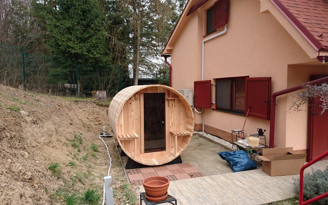 Barelová sauna Sarnia