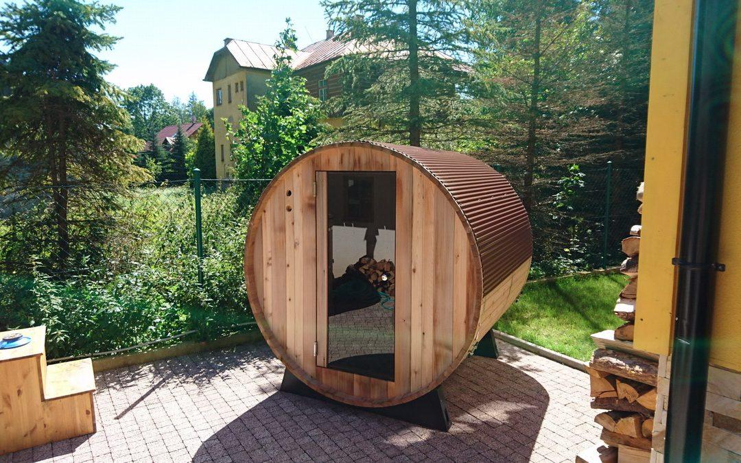 Barelová sauna Bellewille