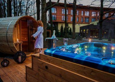 Virivka SunSpa a barelova sauna Hotel Zochova chat