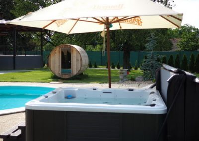 Virivka a sudova sauna Kastiel Afrodita Cerenany