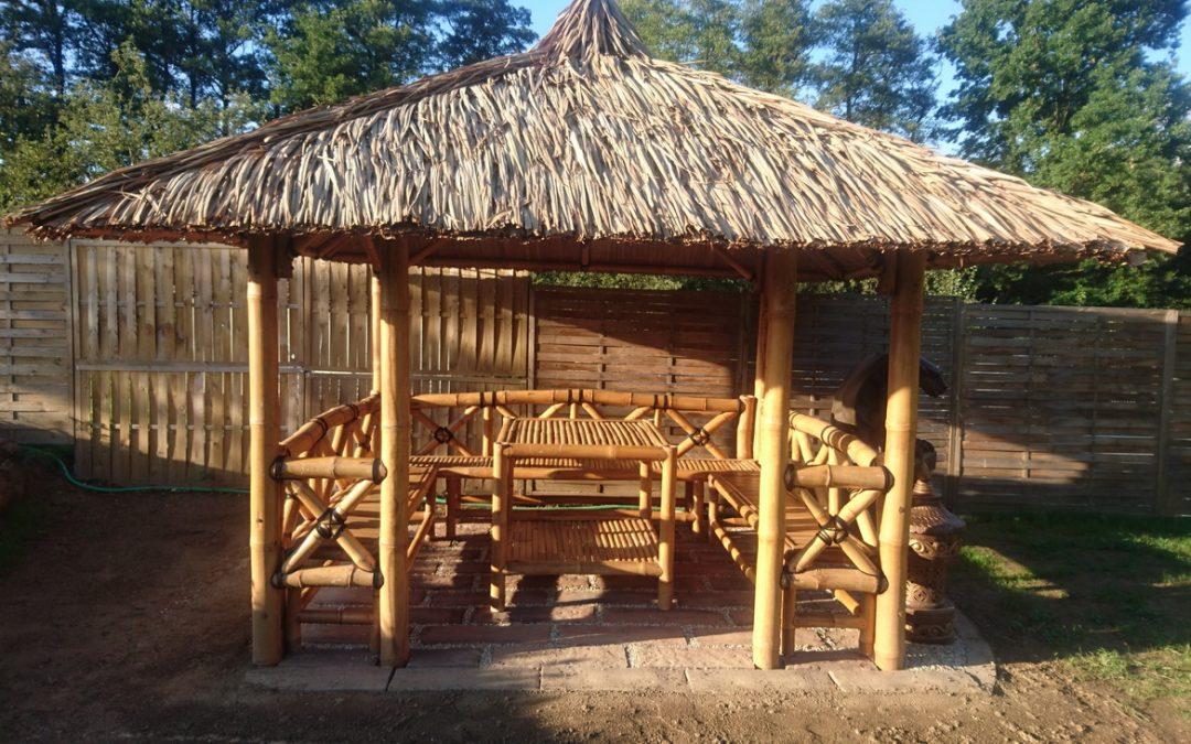 Bambusový altánok JAMBI