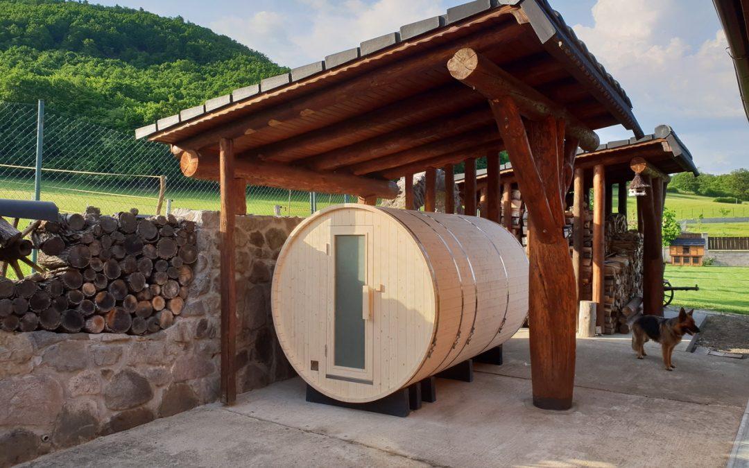 Sudová sauna so šatňou Barrie, Uhliská