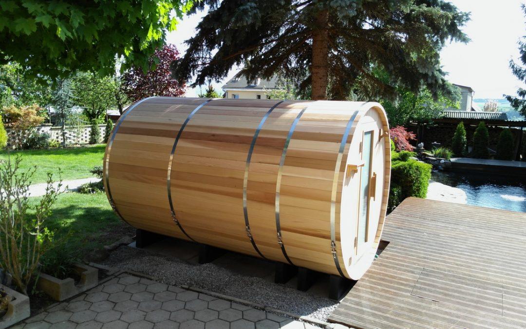 Sudová sauna so šatňou – Barrie, Lutila