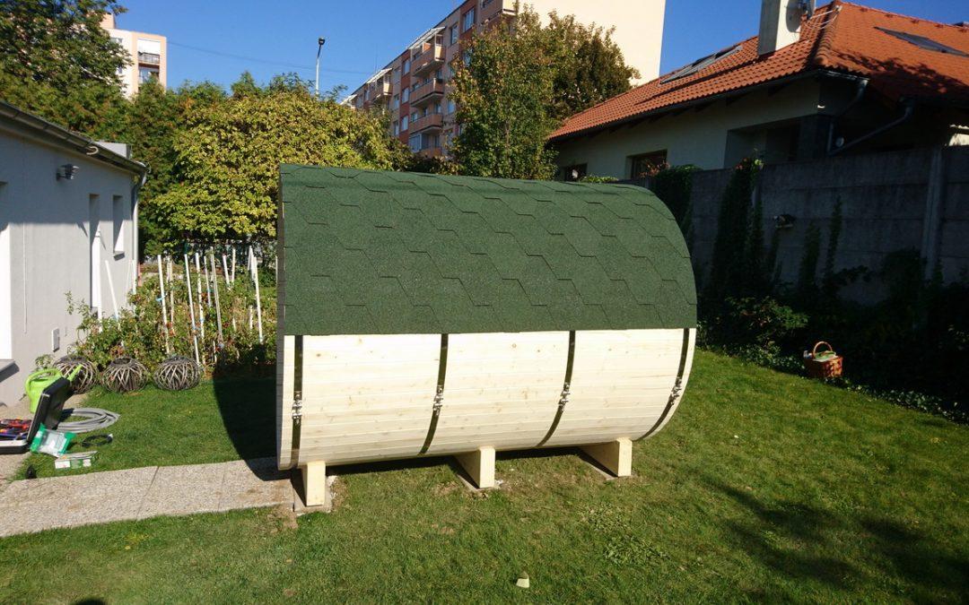 Ako pripraviť podklad pre saunu z borovice.